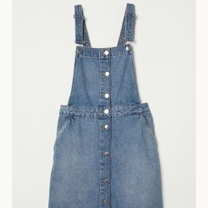 H&M Jean romper dress